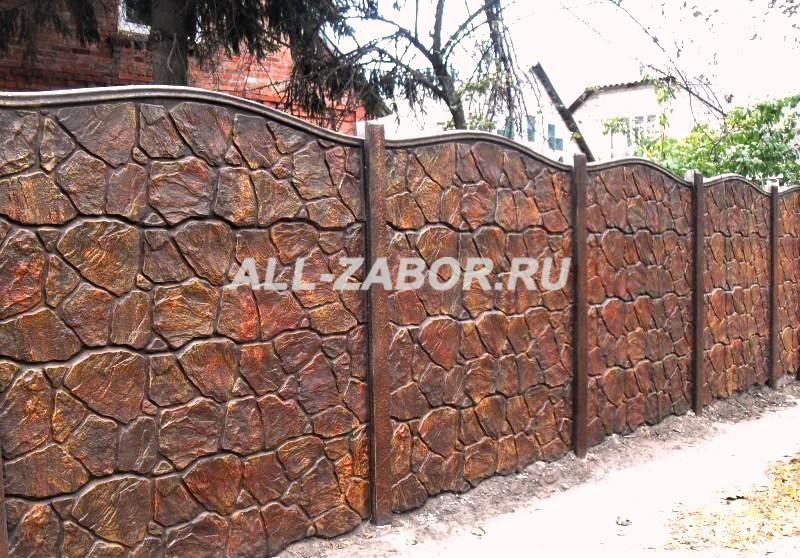 Купить забор из бетона в казани дорожные бетонные смеси